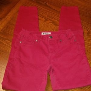 Blue Spice Red Skinny Jeans